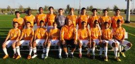 The Houston Dynamo teams at