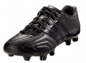 All black adidas soccer