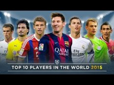 Best soccer players in the
