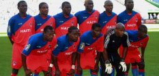 Haitian Soccer Team at Gold