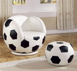 Kids Soccerball Chair &