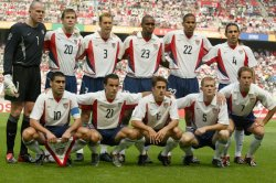 The 2002 USA World Cup squad