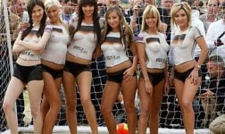 Girls of 2014 World Cup #