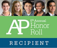 5th Annual AP Honor Roll Recipient