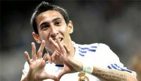 Angel Di Maria transferred from genuine Madrid to Manchester United for a charge of €75m ($99m)