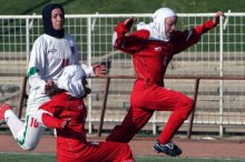 Iranian ladies Soccer Captain will most likely skip Asian Cup After Husband Takes Passport