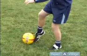 How to kick a Soccer ball?