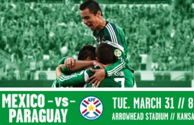 Mexico National soccer team Schedule 2015