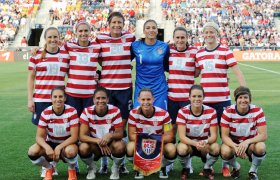 USA Soccer Team Women