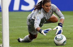 Womens Soccer Goalie