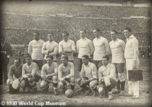 Uraguay 1930 World Cup Team Picture