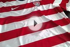2012/13 Nike USA Home Soccer Jersey