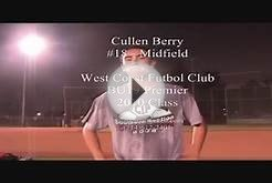 #18 Cullen Berry West Coast Soccer Club BU19 Premier by