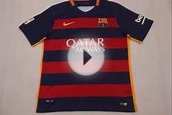 15/16 Barcelona home soccer jersey FANS version on