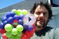 6 balloon soccer ball