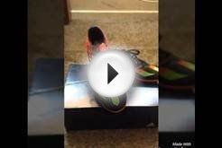 Adidas Messi 15.3 indoor soccer shoes unboxing