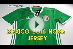 Adidas Mexico 2016/17 Home Jersey | SoccerBox | Unboxing