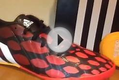 Adidas Predator Absolado Instinct Indoor Soccer Shoes Red