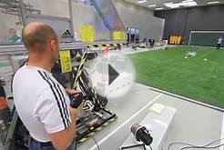 Adidas Research Center Soccer Ball Kicking Machine