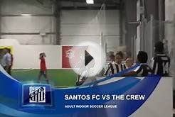 Adult Indoor Soccer League : Santos FC vs The Crew