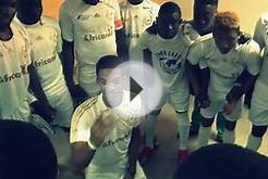 "African11 ""HeatUp"" Song & Prayer. One World Soccer Game"