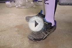 asics soccer cleats stomping bottle