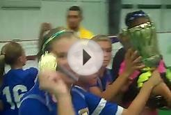 Cajun Soccer Club Girls win State Indoor Cup