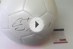 Cristiano Ronaldo Autographed Real Madrid Nike Soccer Ball