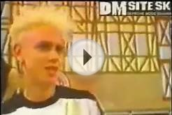 Depeche Mode soccer team (Germany 1986)