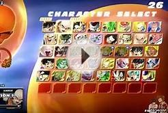 Dragon Ball Zenkai Battle Royale | All Character in Select