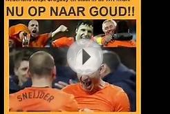 Dutch Soccer team Goes for Gold! Netherlands vs Spain F16