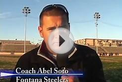 Fontana High School soccer highlights 2012