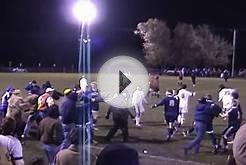 High School Soccer Fight