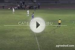 High school soccer player scores insane goal from midfield