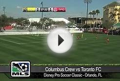 HIGHLIGHTS: 2013 Disney Pro Soccer Classic - Columbus Crew