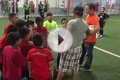 INDOOR SOCCER ZONE FINAL PEQUEÑOS GUERREROS VS REAL