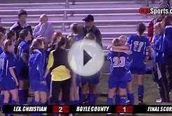 Lexington Christian Academy Girls Soccer Reach Elite 8