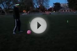 Light Up LED Soccer Ball - Glowing Soccer Ball No. 5