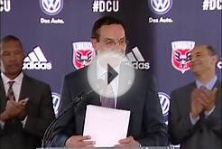 Mayor Gray & DC United Announce New World-Class Soccer