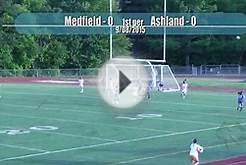 Medfield Warrior Girls Soccer vs Ashland (9-08-15)