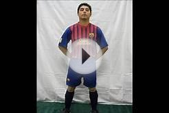 Najera Soccer Video 2012 Uniforms
