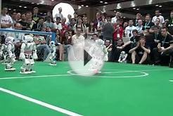 NAO Robot Is Amazing Soccer Player