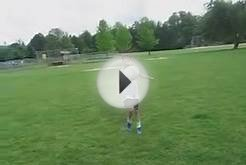 NEW RECORD 4200 U9 GIRL JUGGLING SOCCER BALL 585 TIMES.