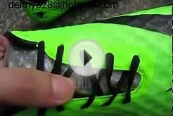 Nike HyperVenom Phantom FG soccer cleats - green black