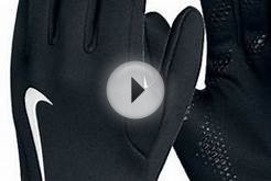 Nike hyperwarm field player gloves training soccer 2013/14