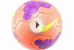 Nike Pitch Soccer Ball - Mango and Purple - SoccerPro.com