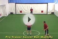 Pro Trainer Soccer indoors-soccer ball machine training