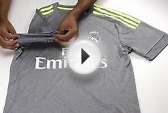Real Madrid Away Soccer Jersey 2015 - 2016