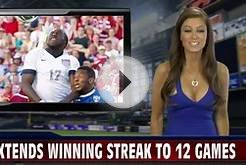 Rebecca Grant Covers US Mens Soccer Team On Fire