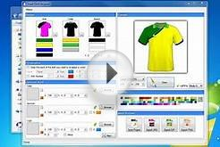 Soccer-Football Jersey Design with Smart Shirt Designer 2